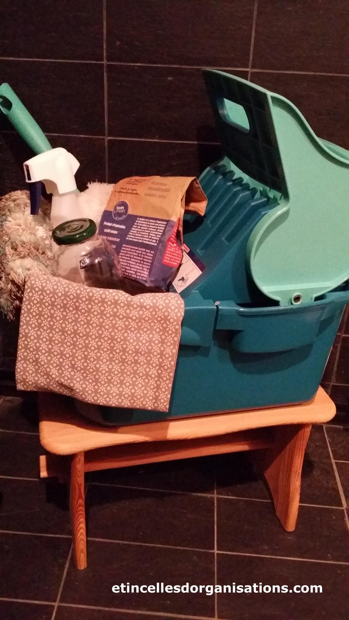 Organisation du ménage…